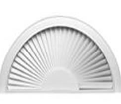 halfmoon table mounted for window blinds circle round sets half big shades well combined plus wall images dining also arch as white moon arched of furniture curtain gallery blind with shade mirror fancy semi